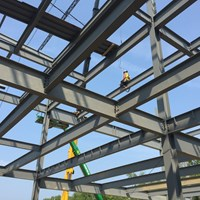 structural steel, foundation steel, steel erection, ironworkers, fall protection